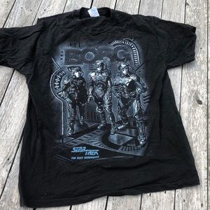 Vintage 1994 Star Trek Borg T-shirt men's XL